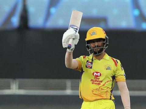 Ruturaj Gaikwad scored 45 runs to steer CSK to a 6-wicket win over Sunrisers Hyderabad in the Match 44 of the IPL 2021