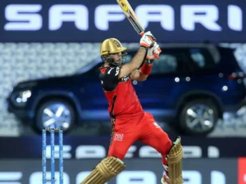 Glenn Maxwell powered RCB to a 7-wicket win over Rajasthan Royals in the IPL 2021