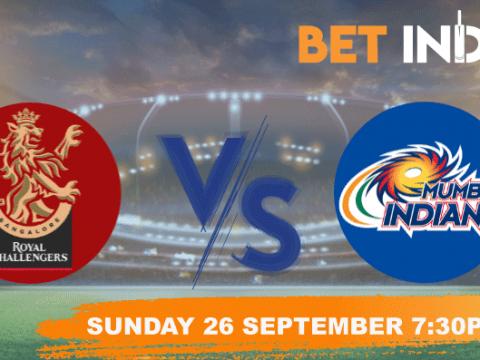 Royal Challengers Bangalore vs Mumbai Indians Betting Tips & Predictions IPL 2021