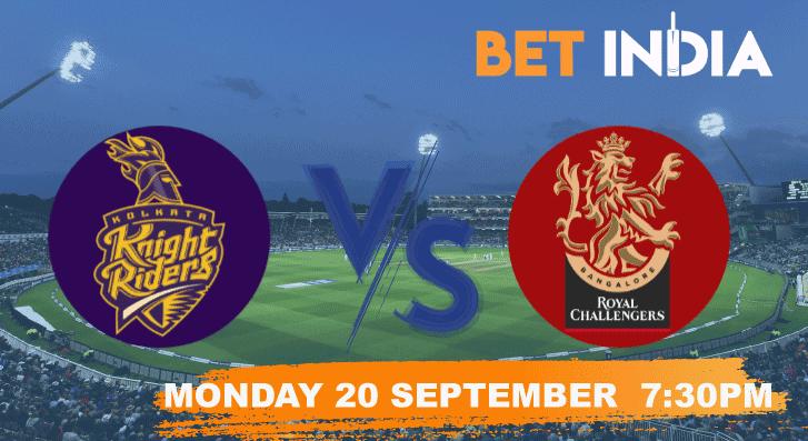 KKR vs RCB Betting Tips & Predictions IPL 2021