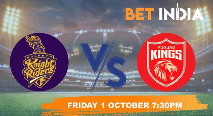 Kolkata Knight Riders v Punjab Kings IPL 2021 Betting Tips and Predictions