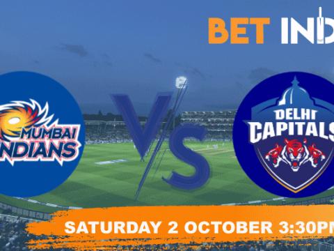 Mumbai Indians v Delhi Capitals Betting Tips & Predictions IPL 2021