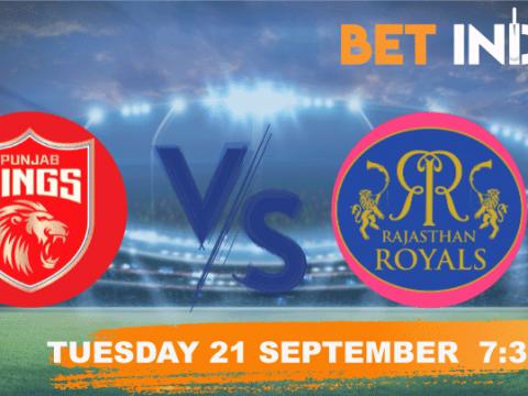 Punjab Kings vs Rajasthan Royals Betting Tips & Predictions IPL 2021