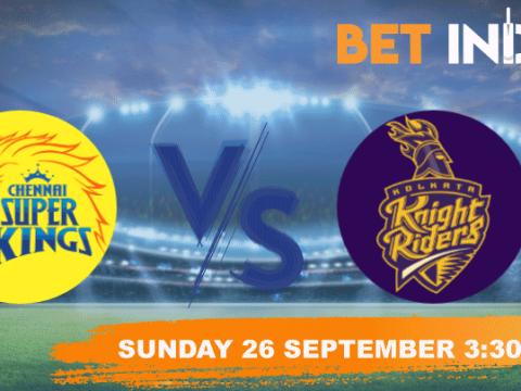 Chennai Super Kings v Kolkata Knight Riders Betting Tips & Predictions IPL 2021