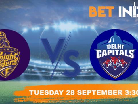 Kolkata Knight Riders vs Delhi Capitals Betting Tips & Predictions IPL 2021