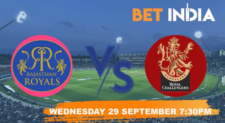 Rajasthan Royals v Royal Challengers Bangalore Betting Tips & Predictions IPL 2021