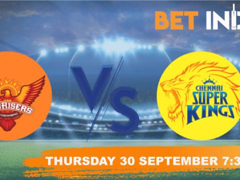 Sunrisers Hyderabad v Chennai Super Kings Betting Tips & Predictions IPL 2021