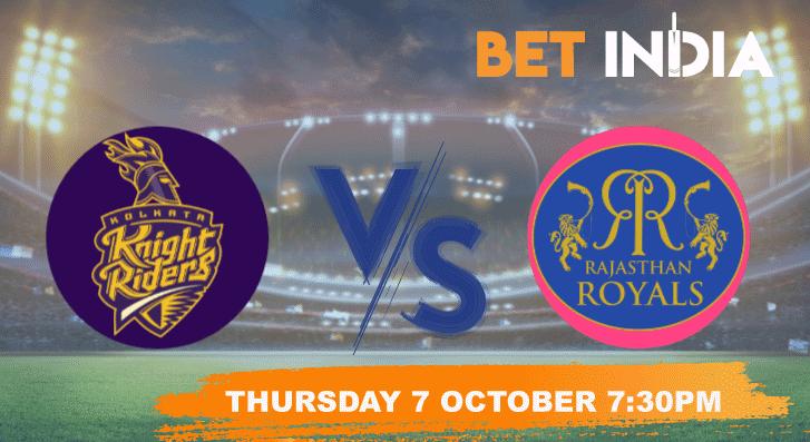 Kolkata Knight Riders v Rajasthan Royals Predictions, Betting Tips - IPL 2021