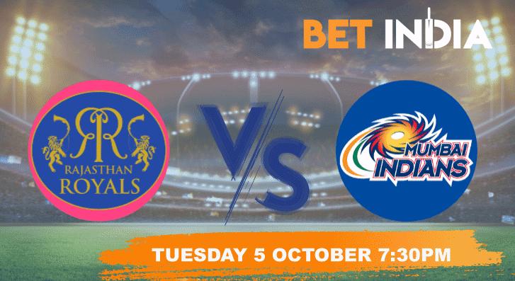Rajasthan Royals vs Mumbai Indians Betting Tips & Predictions - IPL 2021
