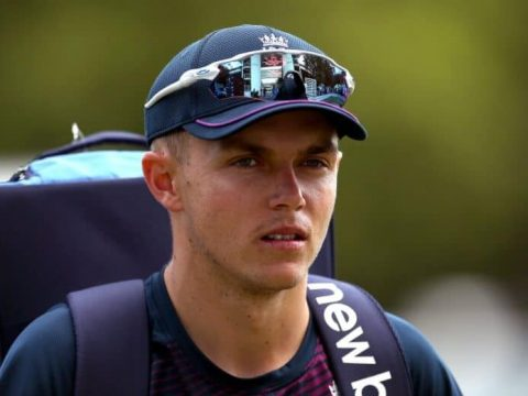 Sam Curran sad - he sustained a back injury during the IPL 2021