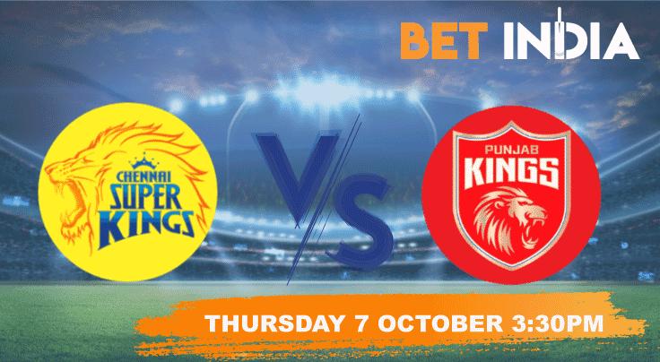 Chennai Super Kings v Punjab Kings Betting Tips & Predictions IPL 2021