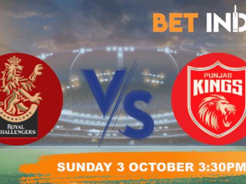 Royal Challengers Bangalore v Punjab Kings Betting Tips & Predictions IPL 2021
