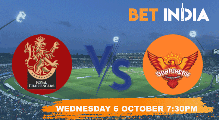 Royal Challengers Bangalore v Sunrisers Hyderabad Betting Tips & Predictions IPL 2021
